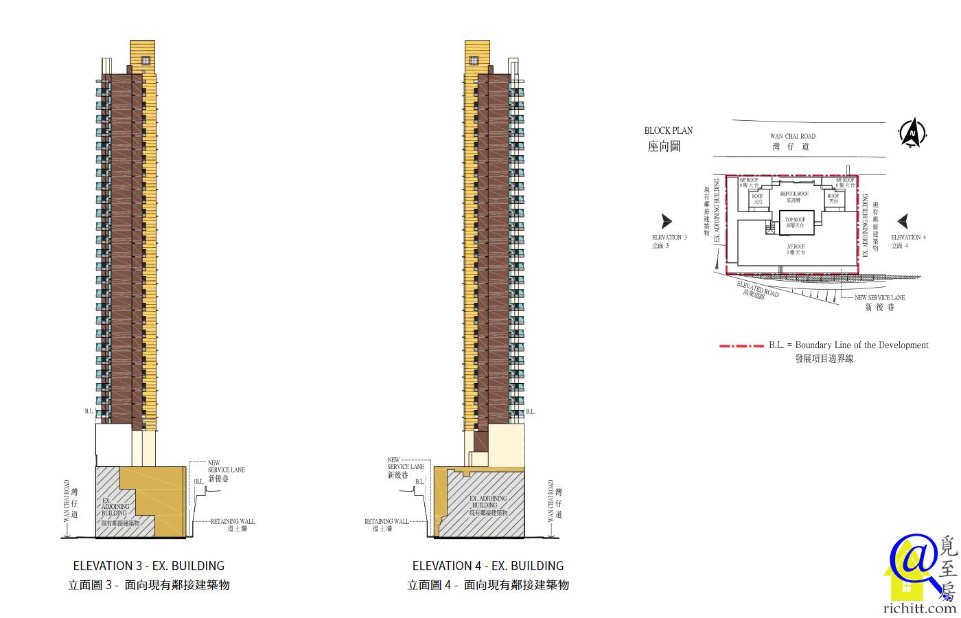 壹嘉立面圖3及4