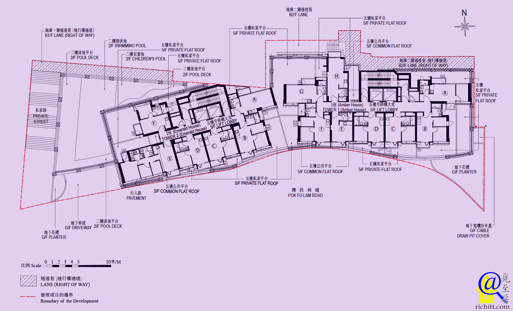 63 Pokfulam佈局圖
