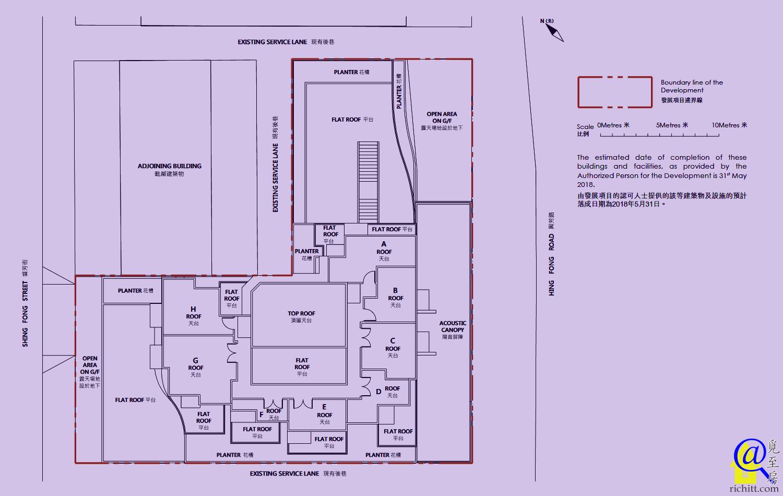 豐寓佈局圖