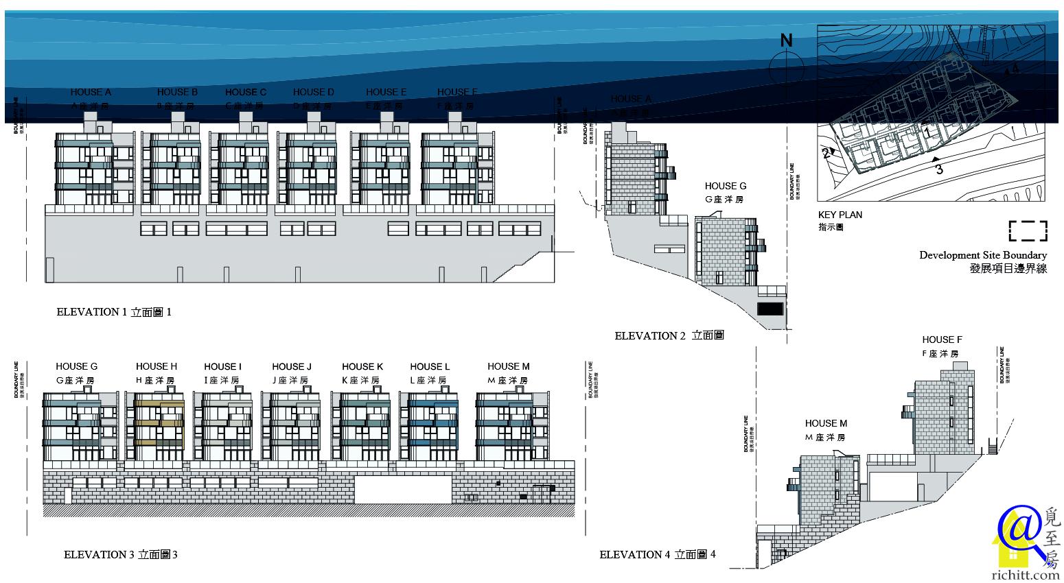 星悅海灣立面圖1