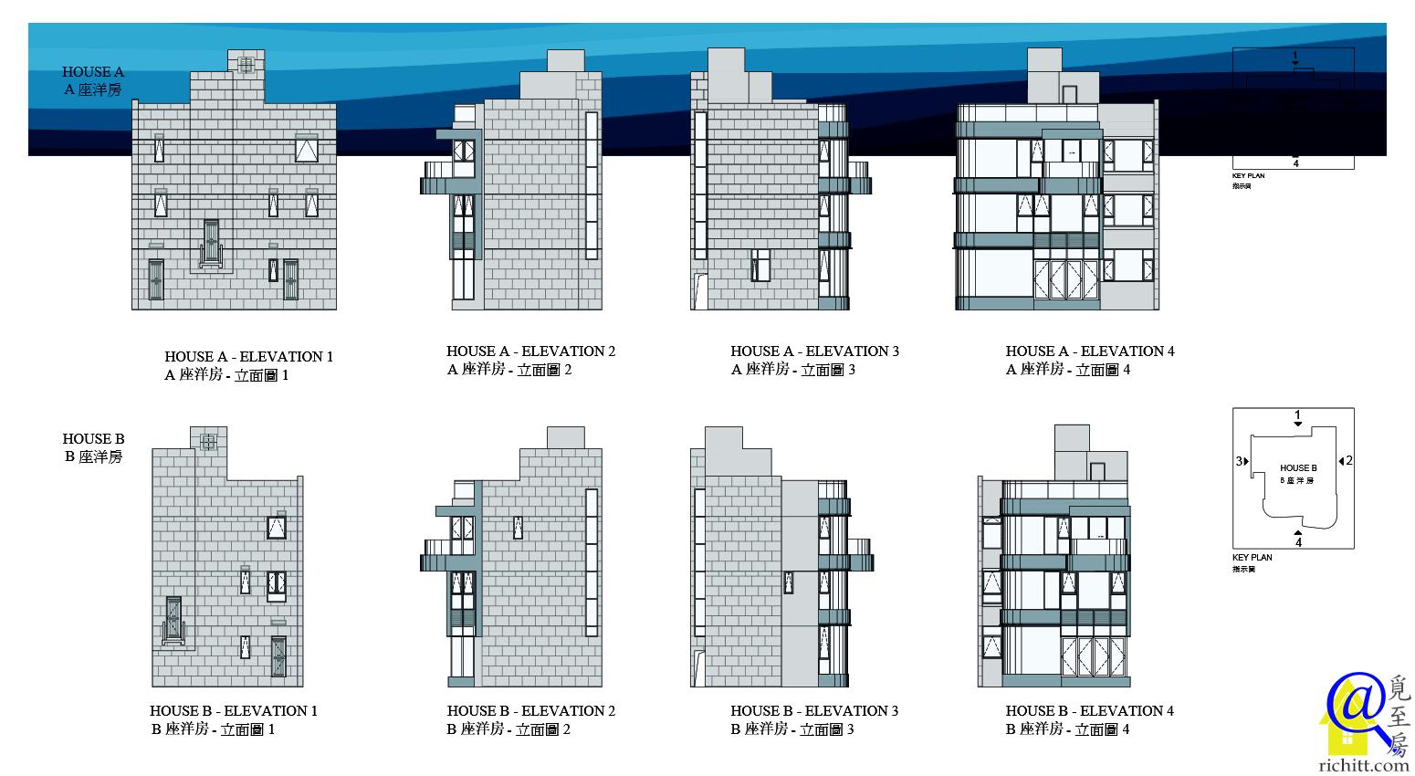 星悅海灣立面圖2