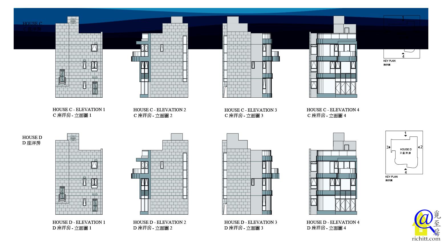 星悅海灣立面圖3
