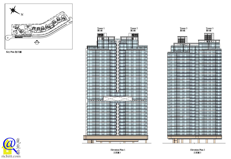 南灣立面圖1
