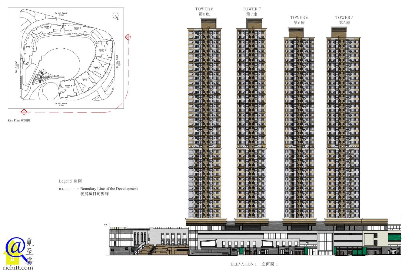 全‧城滙立面圖1