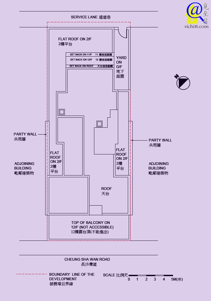 肇義樓佈局圖