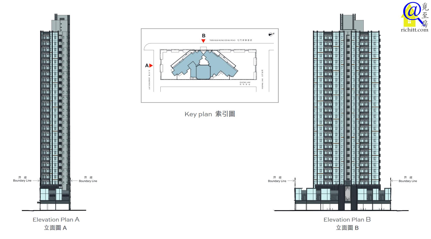 天生樓立面圖1
