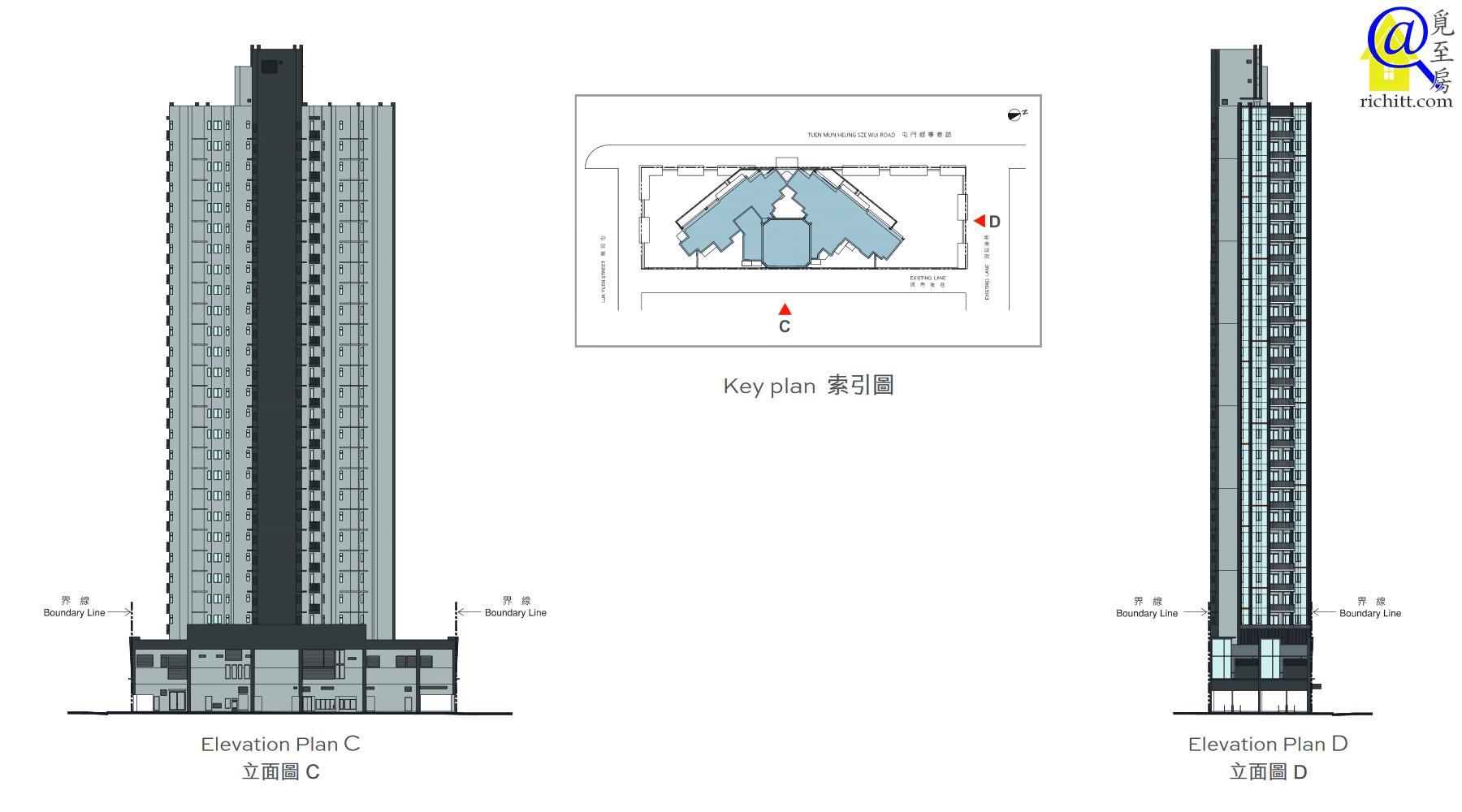 天生樓立面圖2