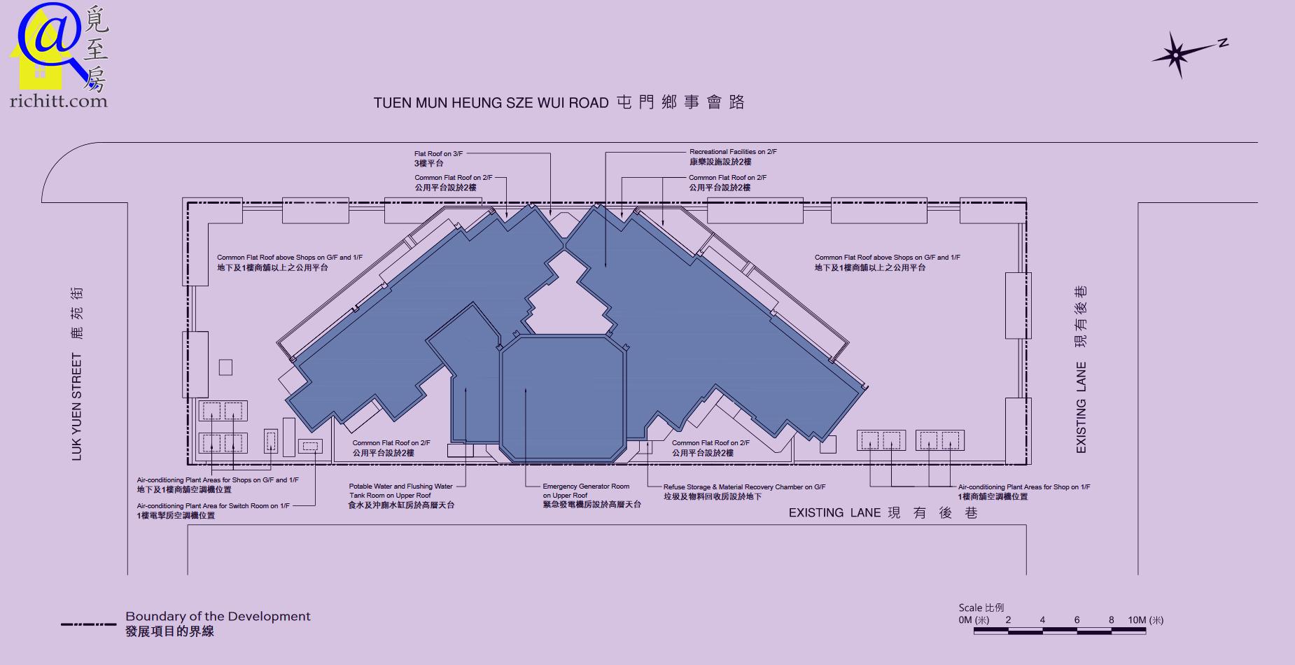 天生樓佈局圖