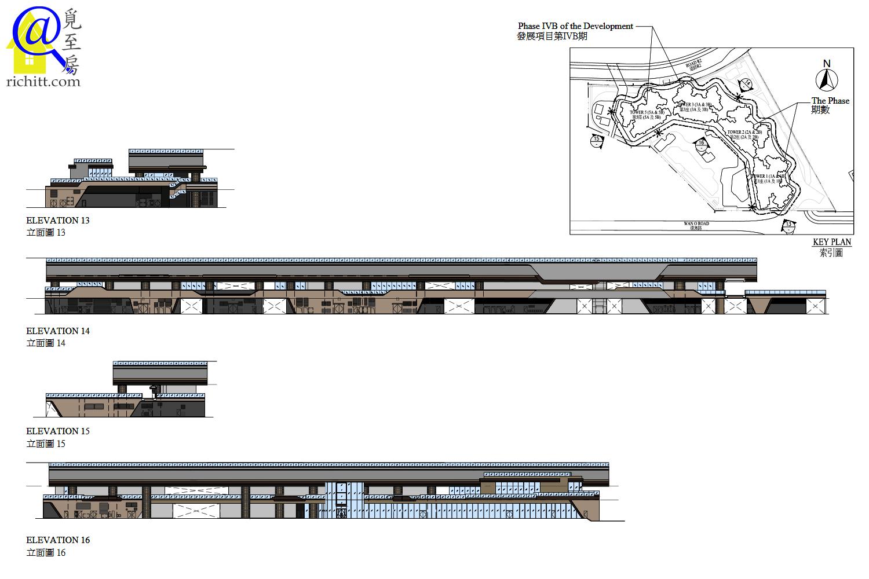 晉海平台立面圖