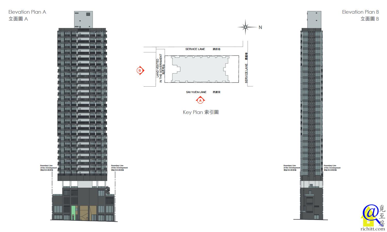 ARTISAN HOUSE 立面圖1