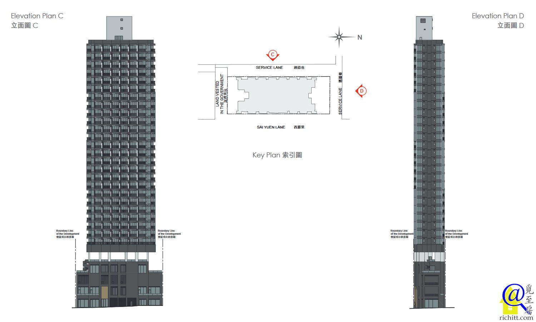 ARTISAN HOUSE 立面圖2