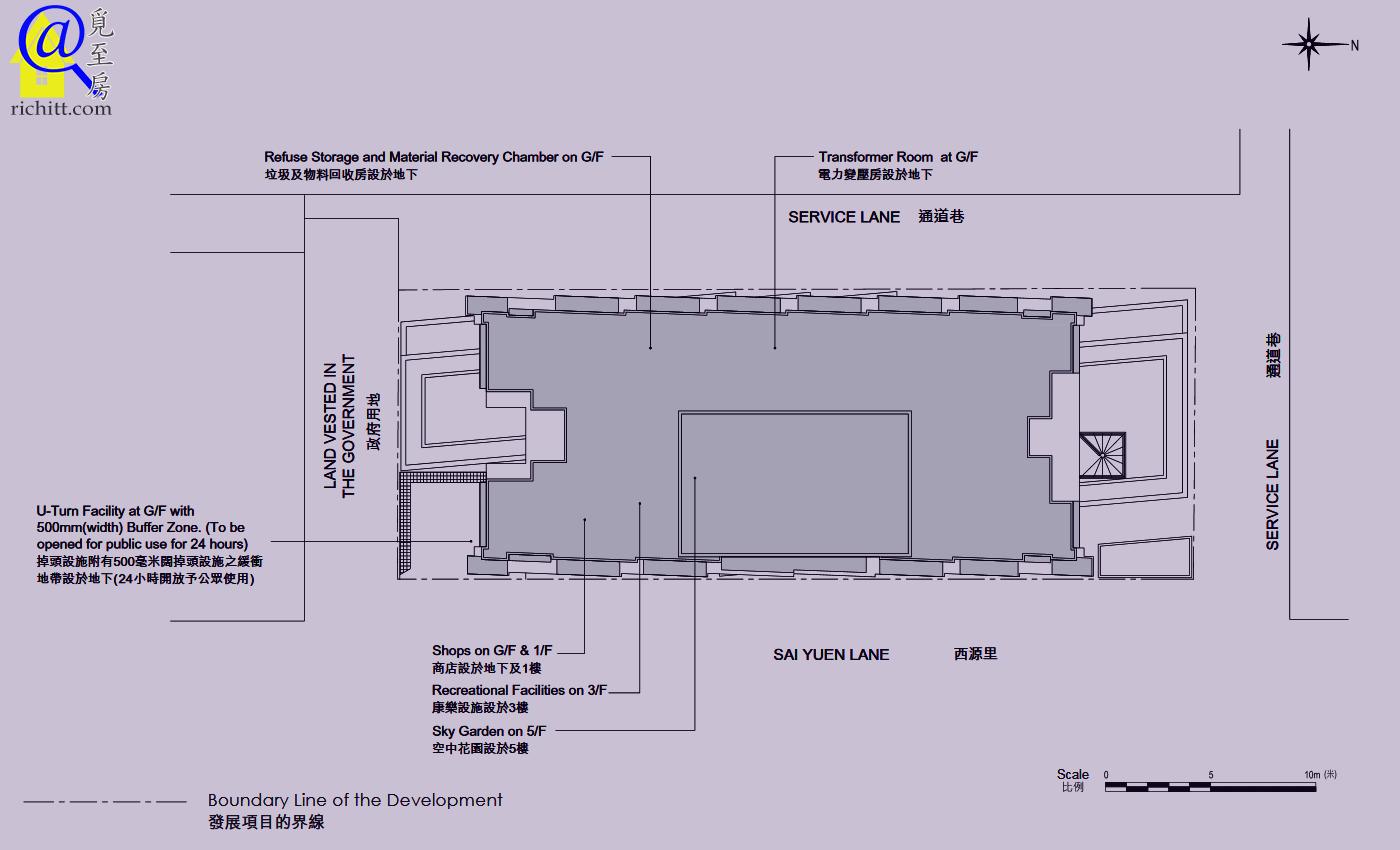ARTISAN HOUSE 佈局圖