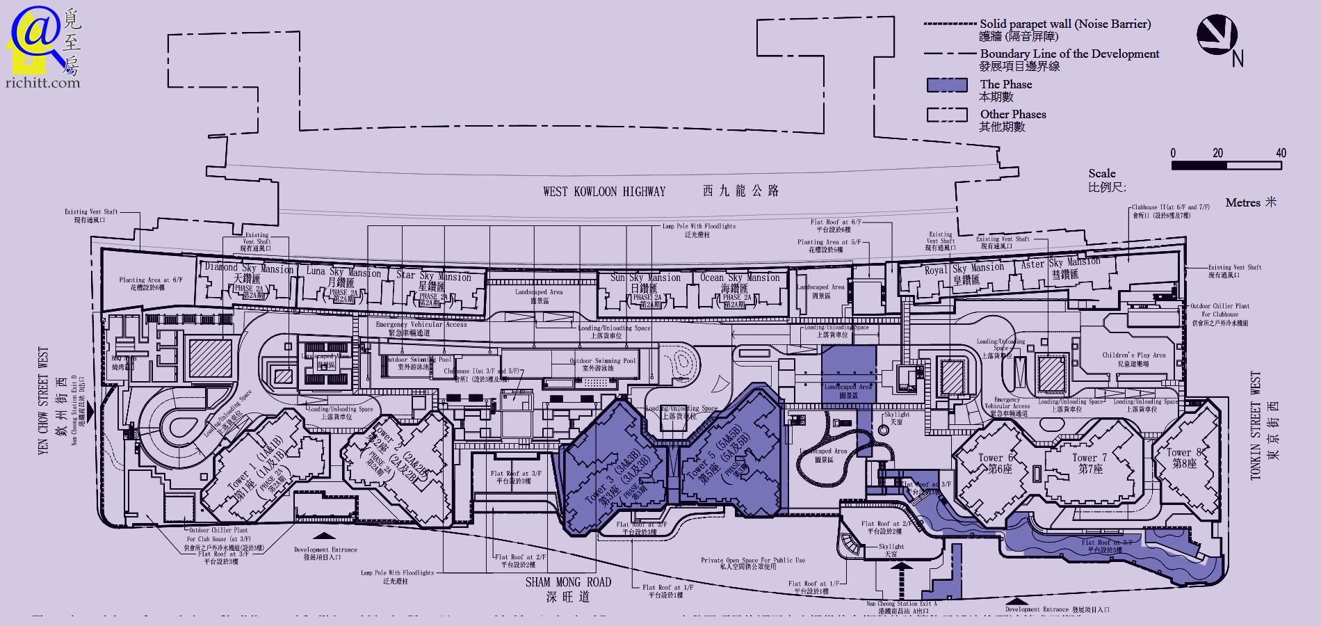 匯璽II佈局圖