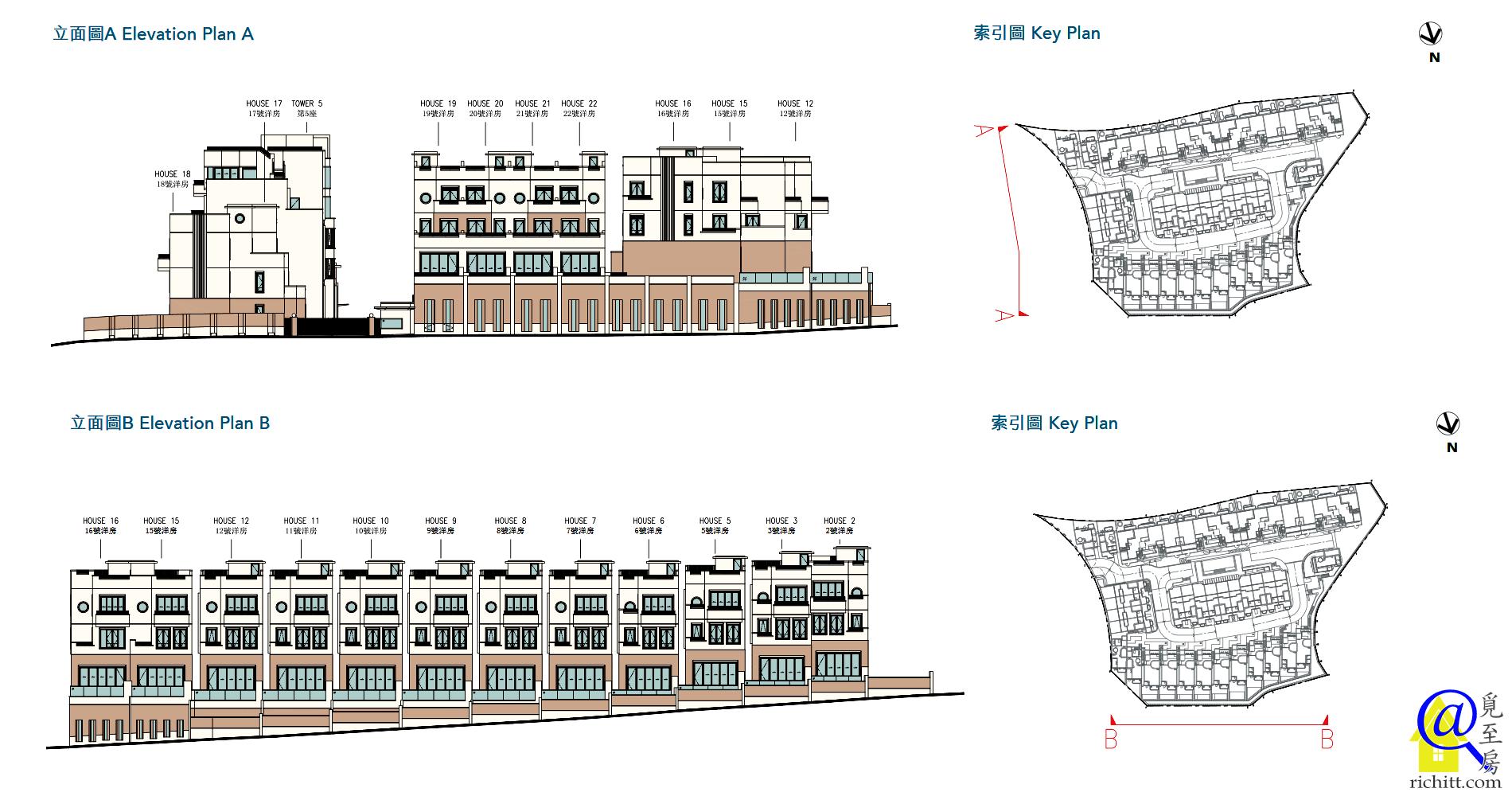 澐瀚洋房立面圖1