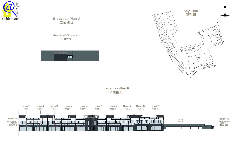 柏逸洋房立面圖1