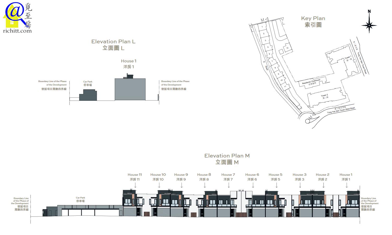 柏逸洋房立面圖2