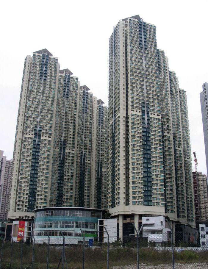 將軍澳廣場外貌- Baycrest作品 (維基百科)
