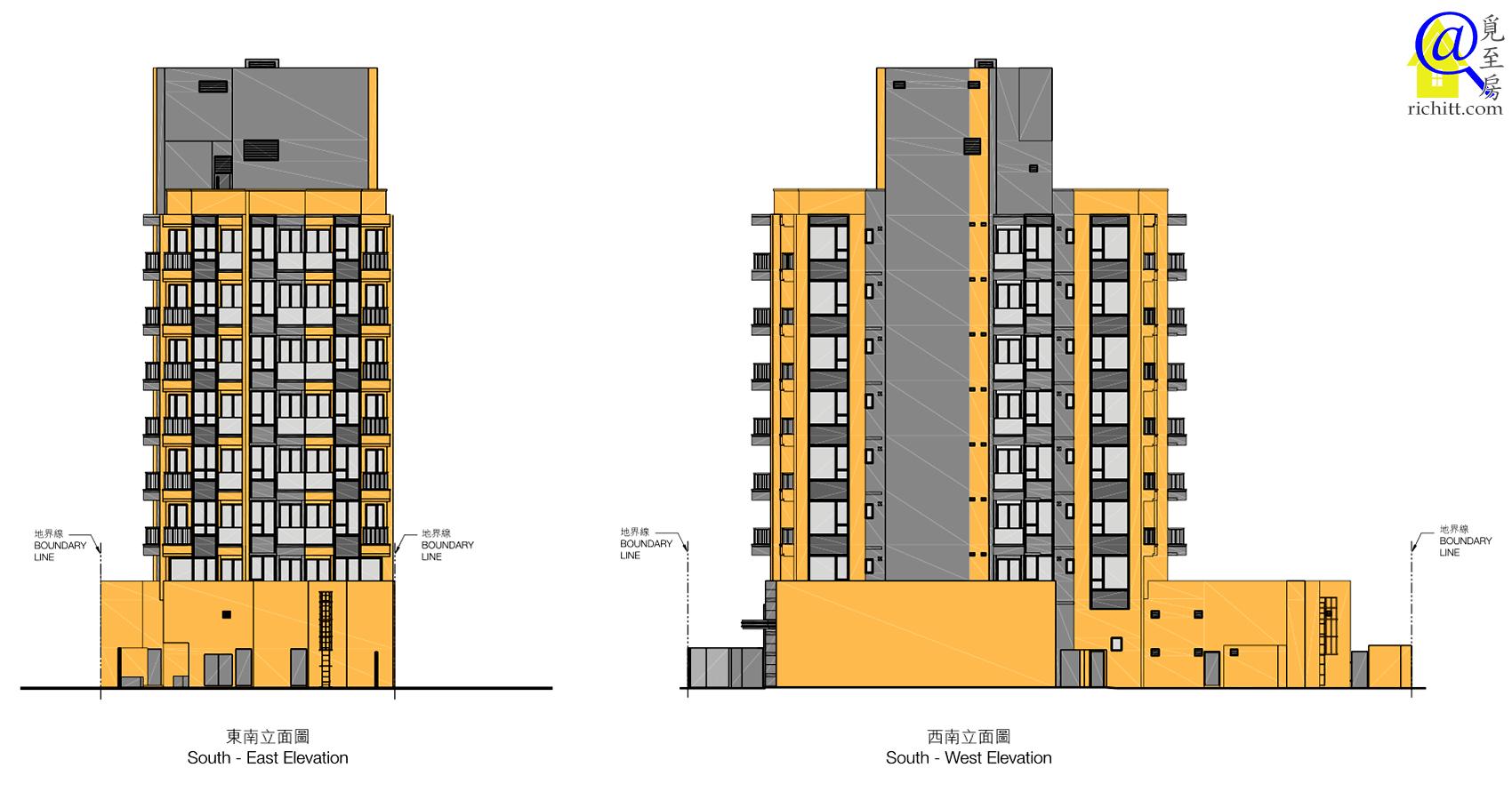 尚悅‧方立面圖2