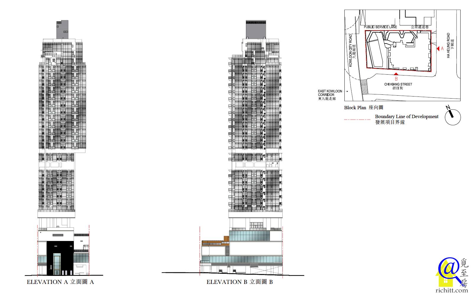 津匯立面圖1