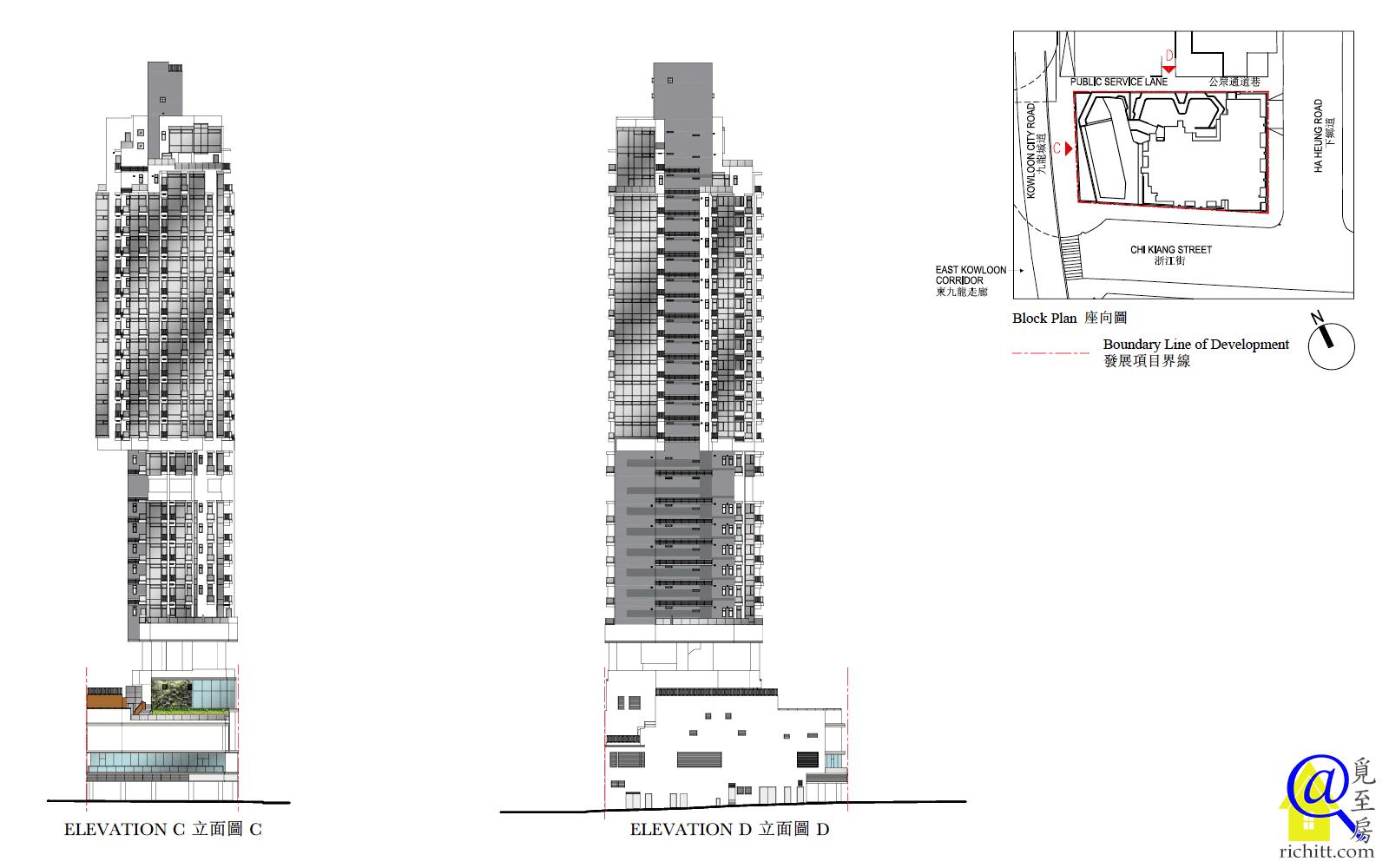 津匯立面圖2