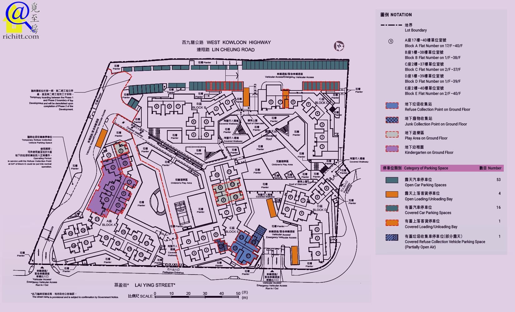 凱樂苑佈局圖