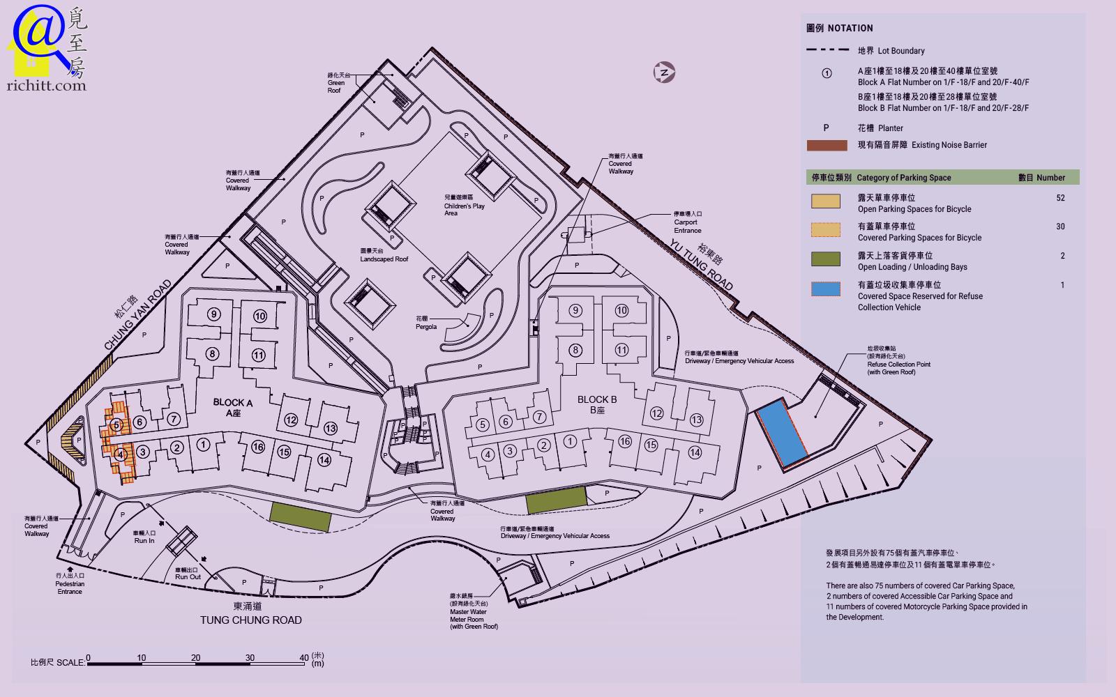 裕泰苑佈局圖