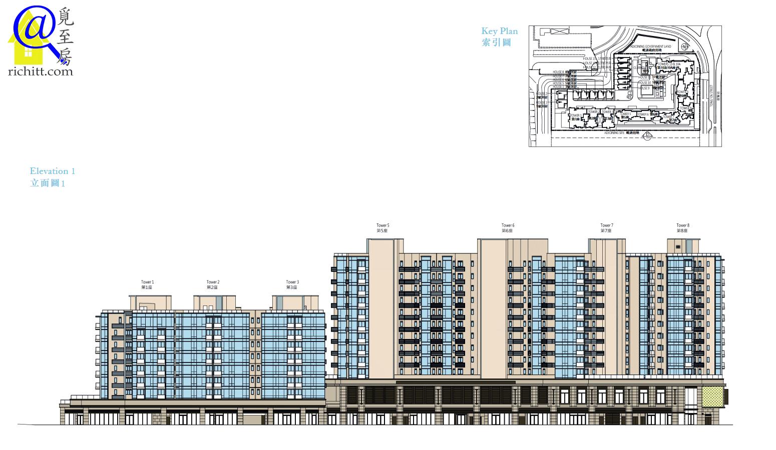 CAPRI 立面圖1
