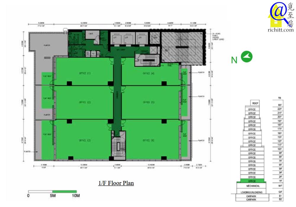 K83 1樓平面圖