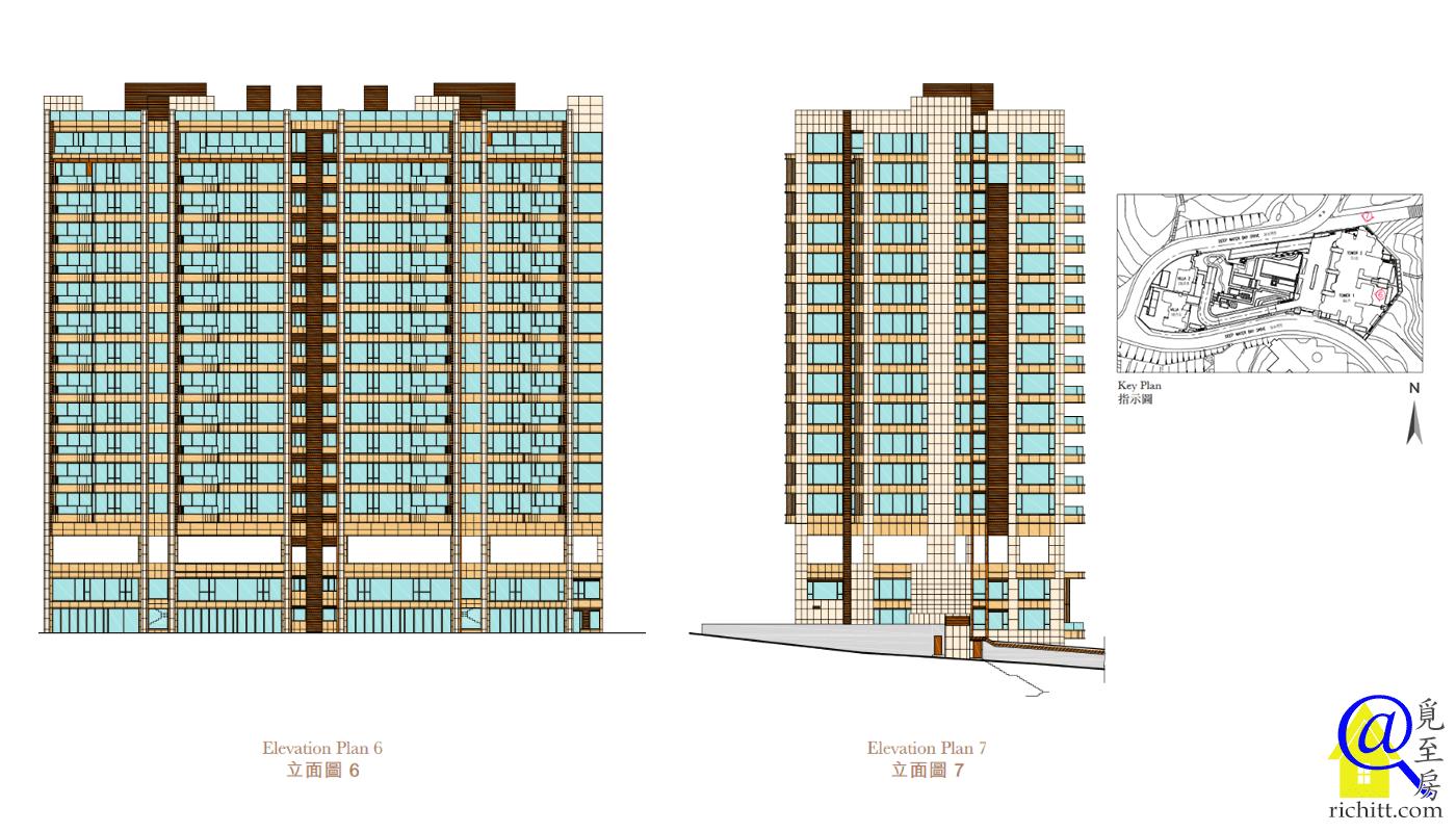 深水灣徑8號大廈立面圖2