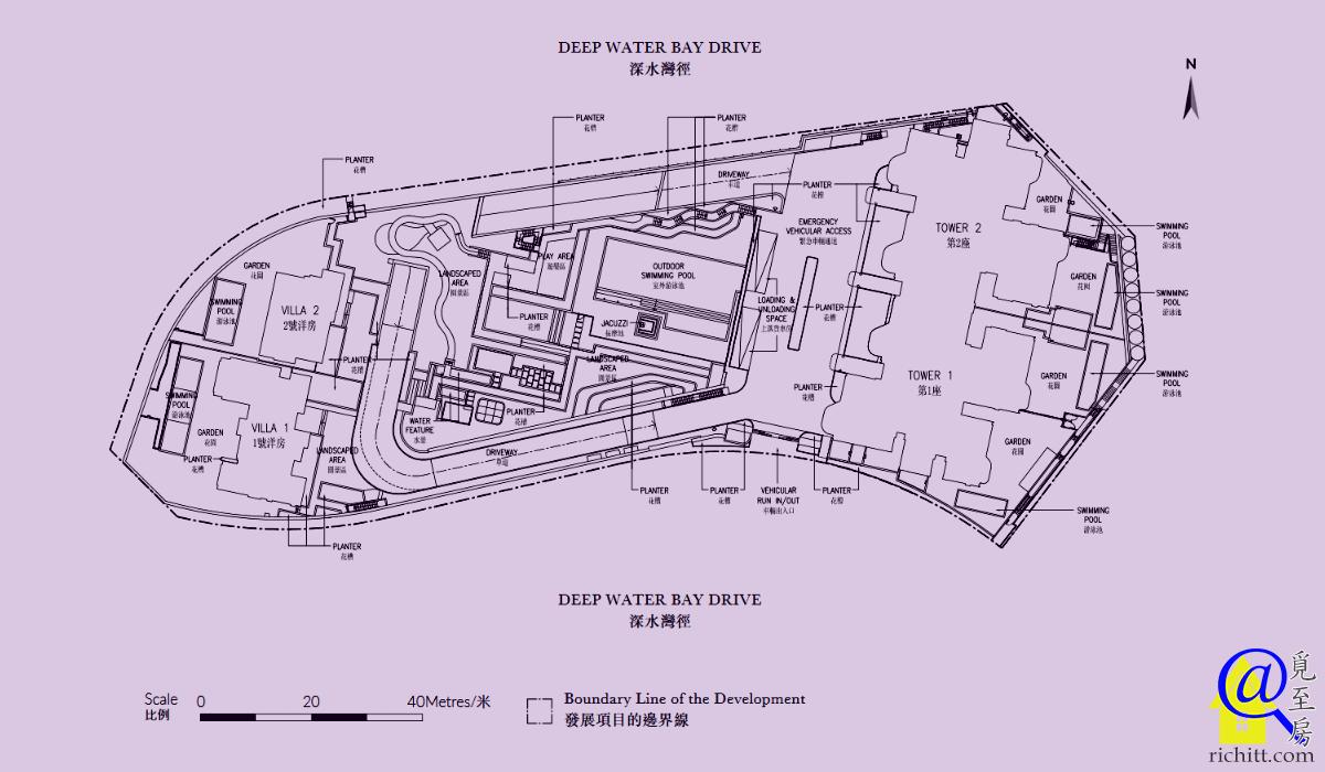 深水灣徑8號佈局圖