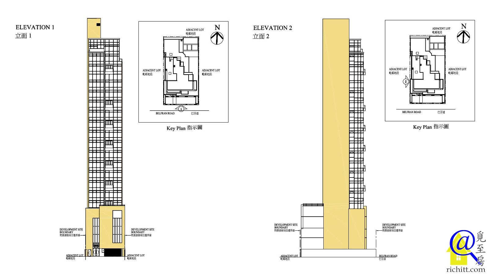 BELFRAN PEAK立面圖1