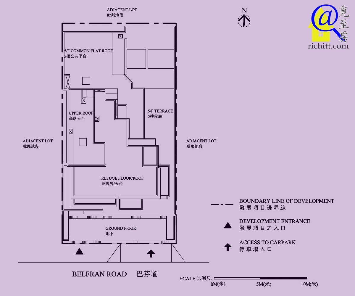 BELFRAN PEAK佈局圖