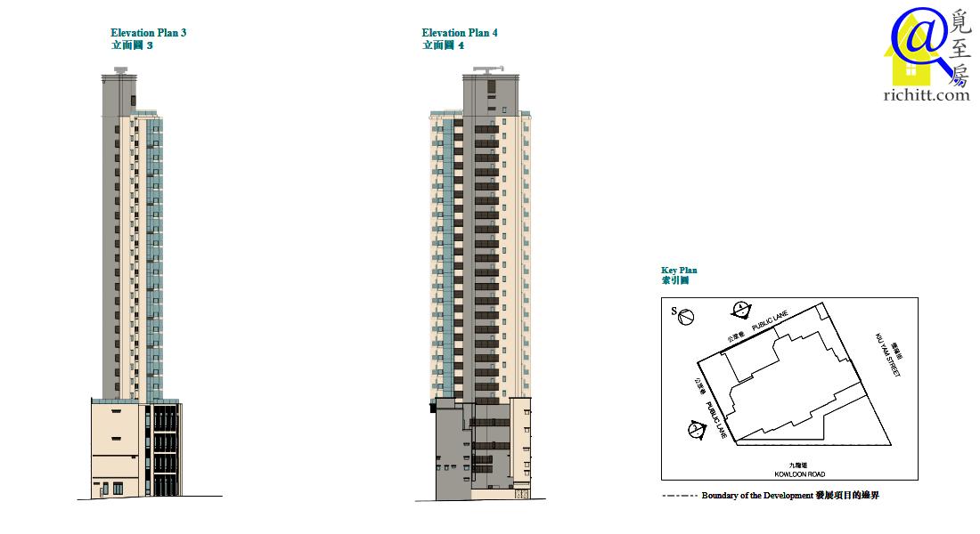一號九龍道立面圖2