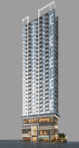 藝里坊‧1號外觀模擬圖