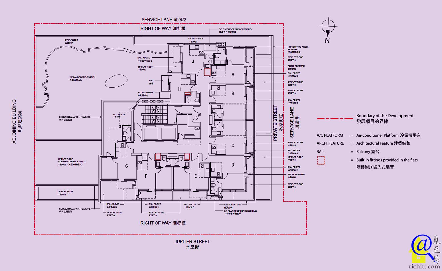 維峯‧浚匯佈局圖