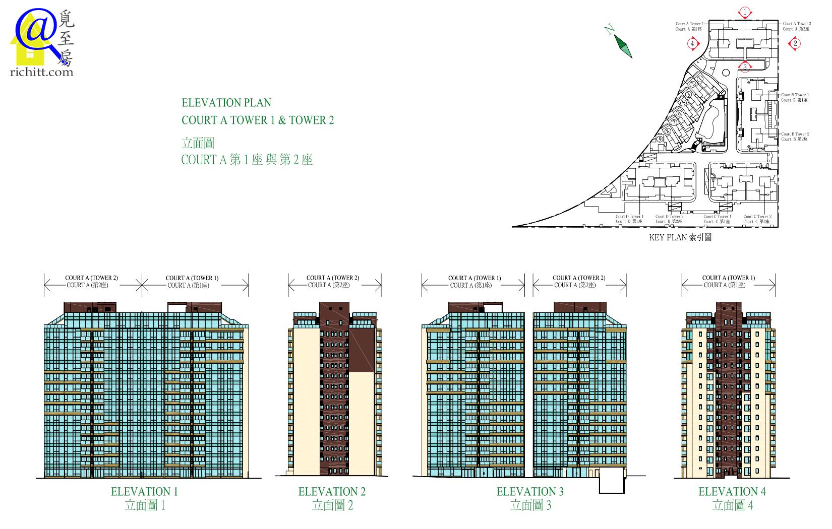 海日灣立面圖1