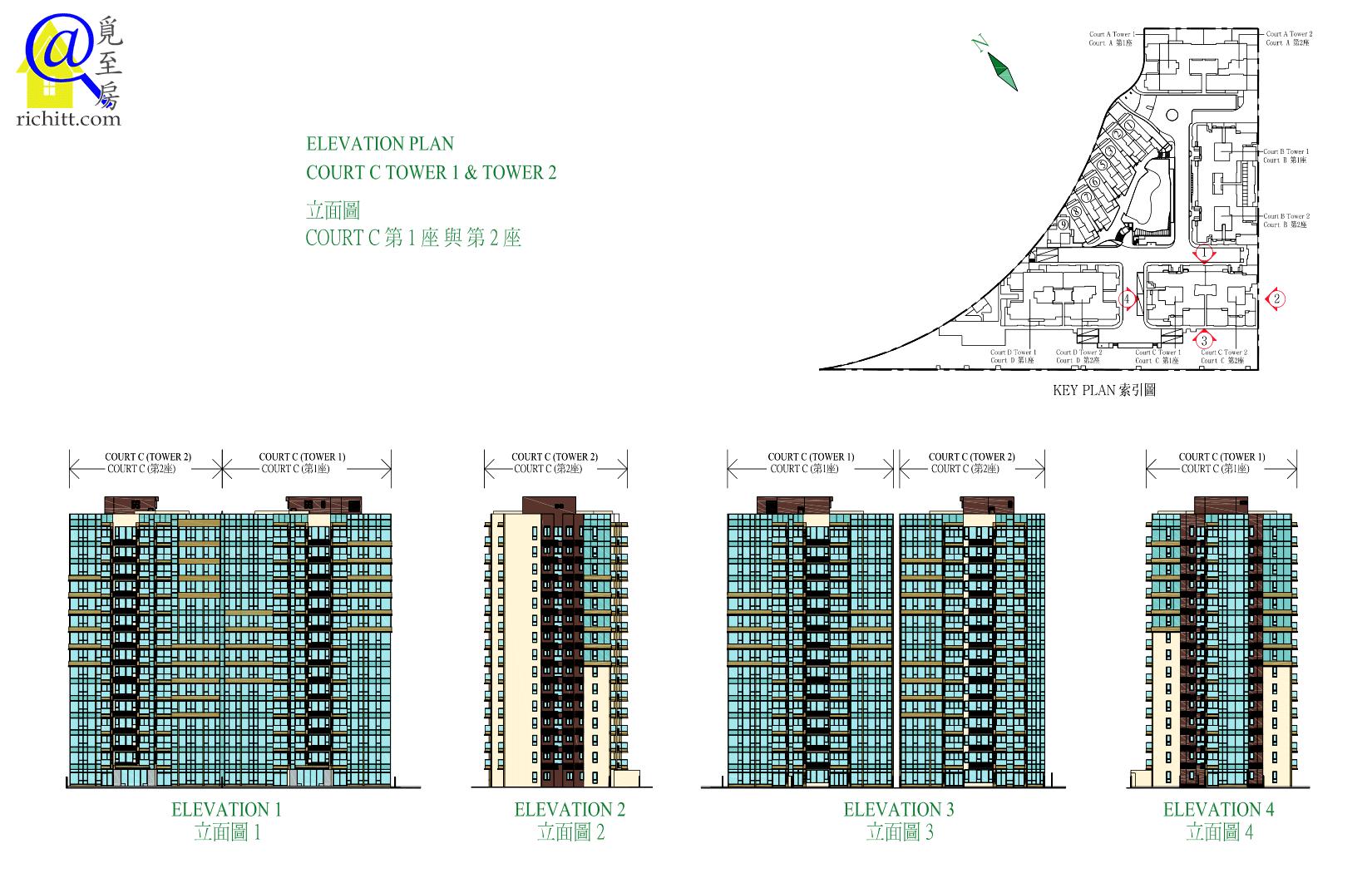 海日灣立面圖3