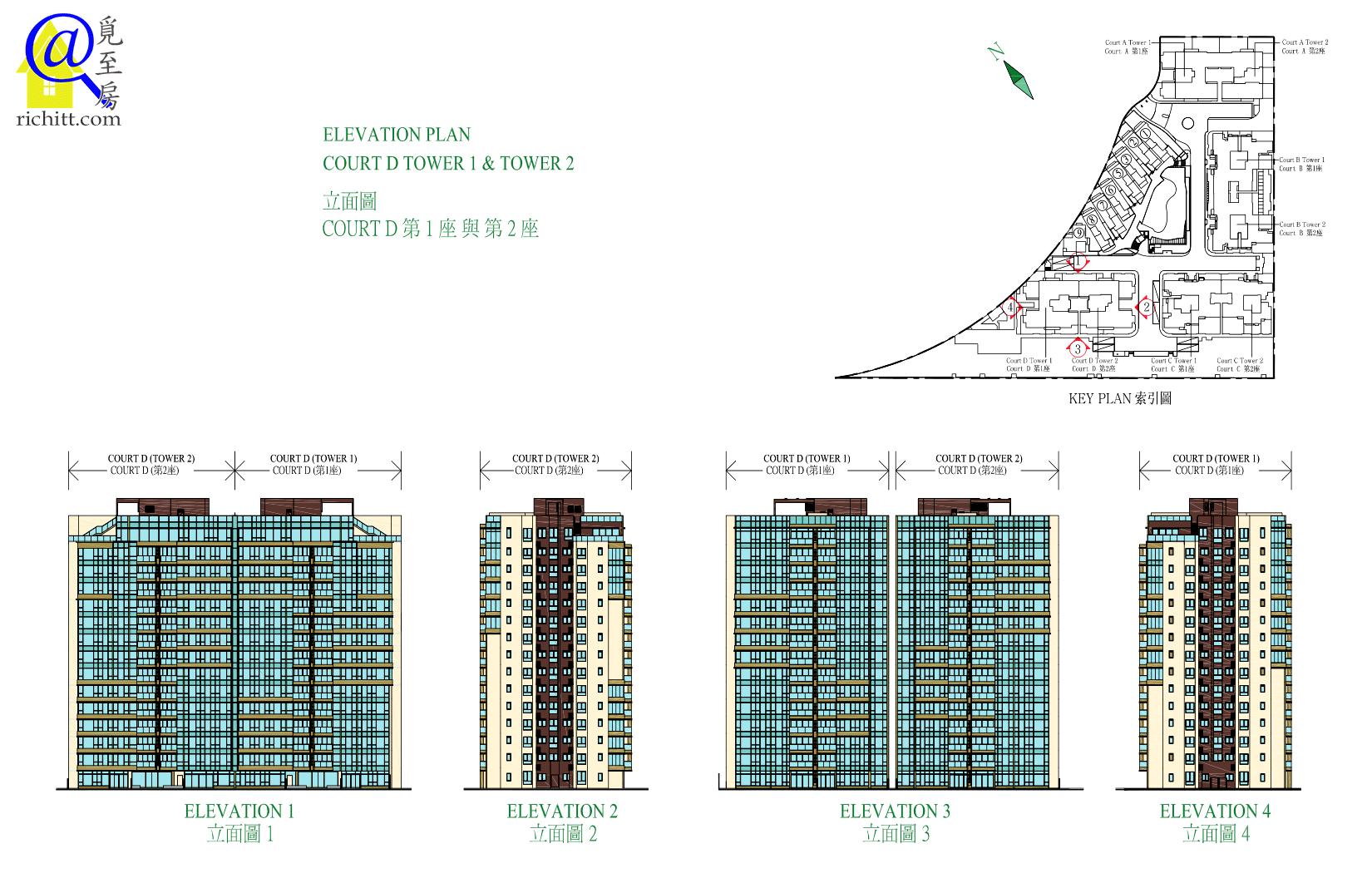 海日灣立面圖4
