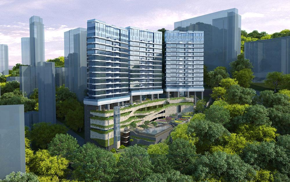 旭龢道42至44號項目模擬外觀 - 取材自 http://www.alkf.com/hk/
