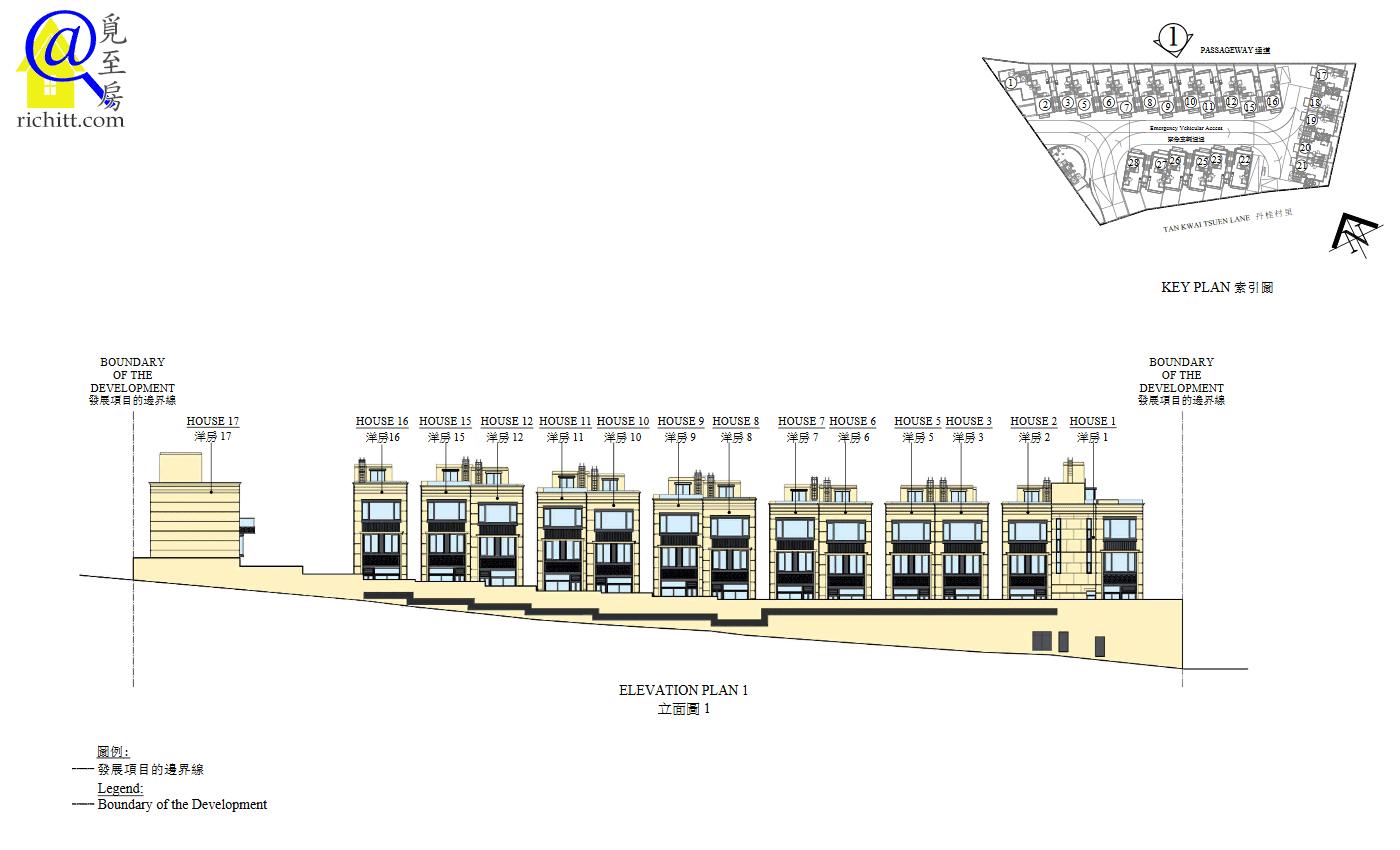 珀爵立面圖1
