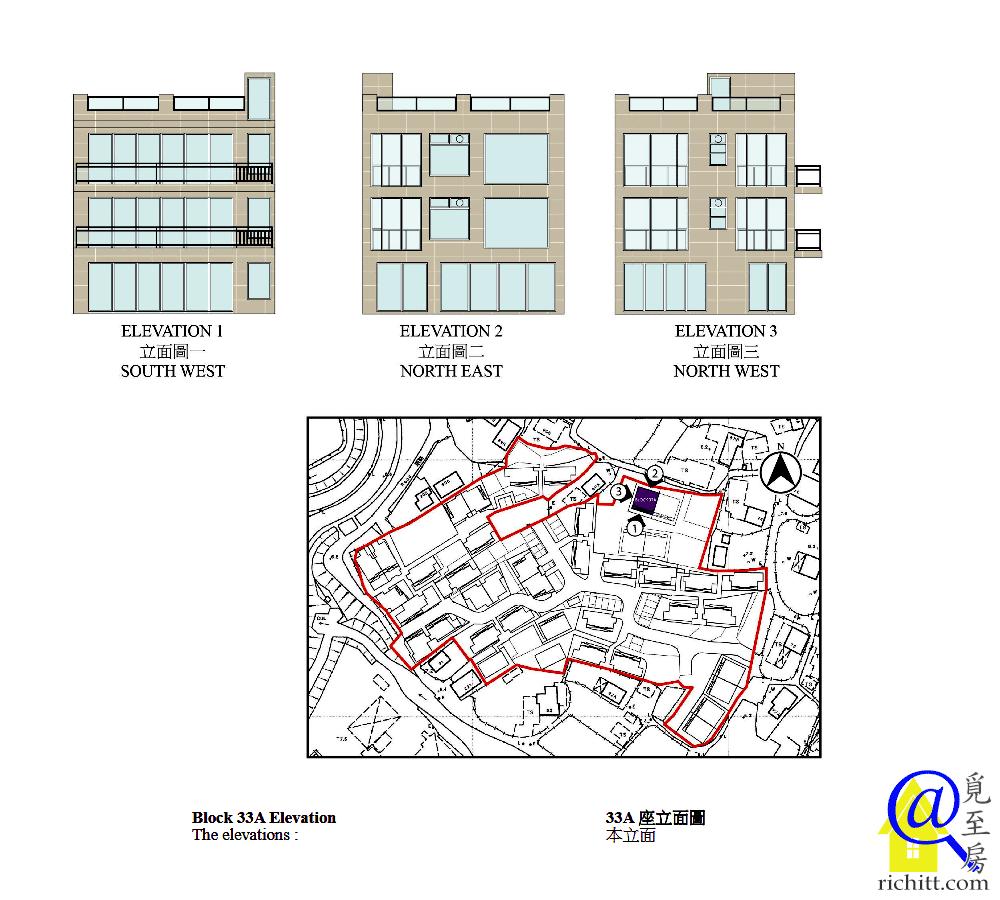 華安苑立面圖3