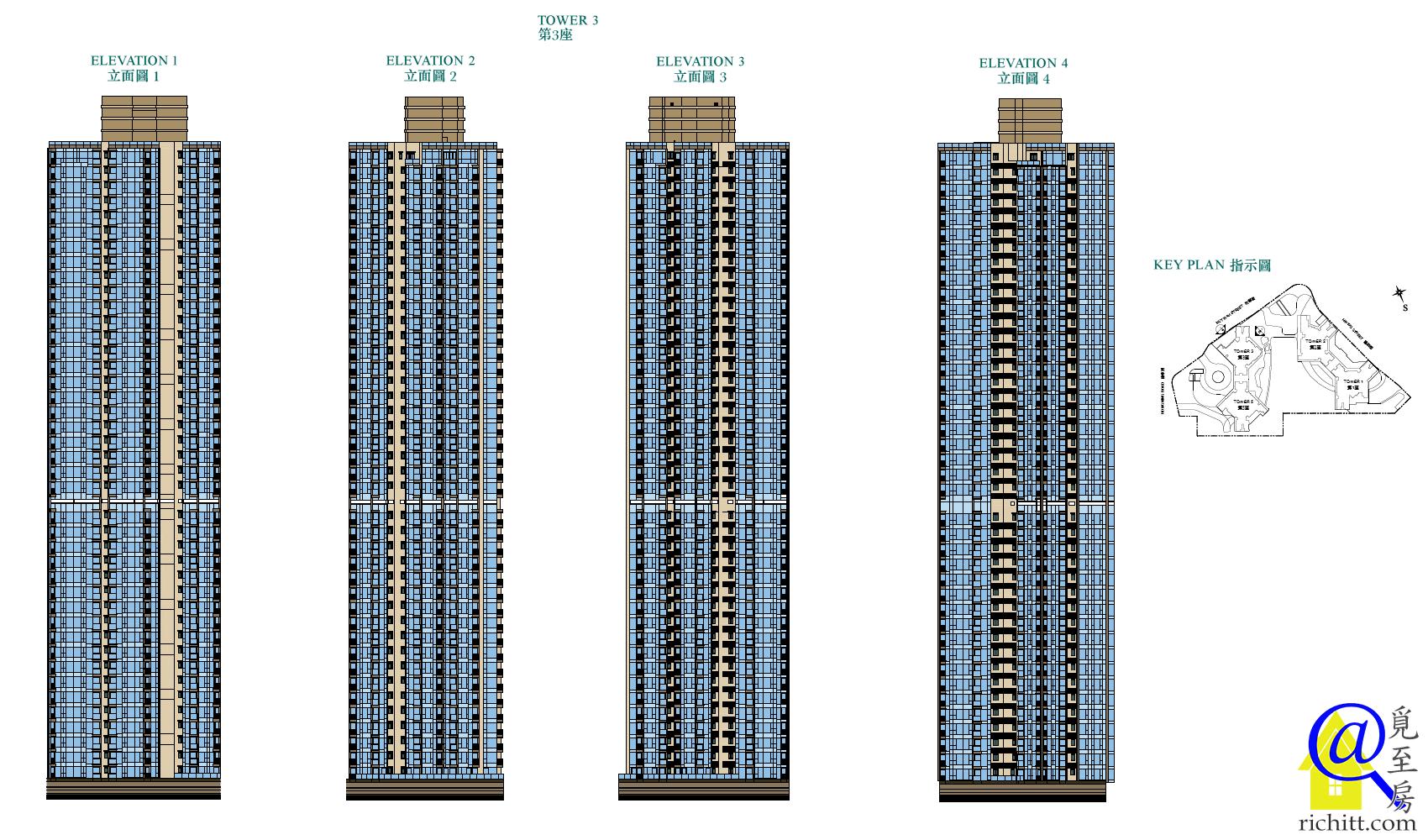 凱滙第二期立面圖1