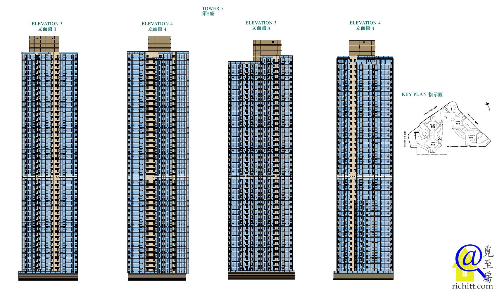 凱滙第二期立面圖2