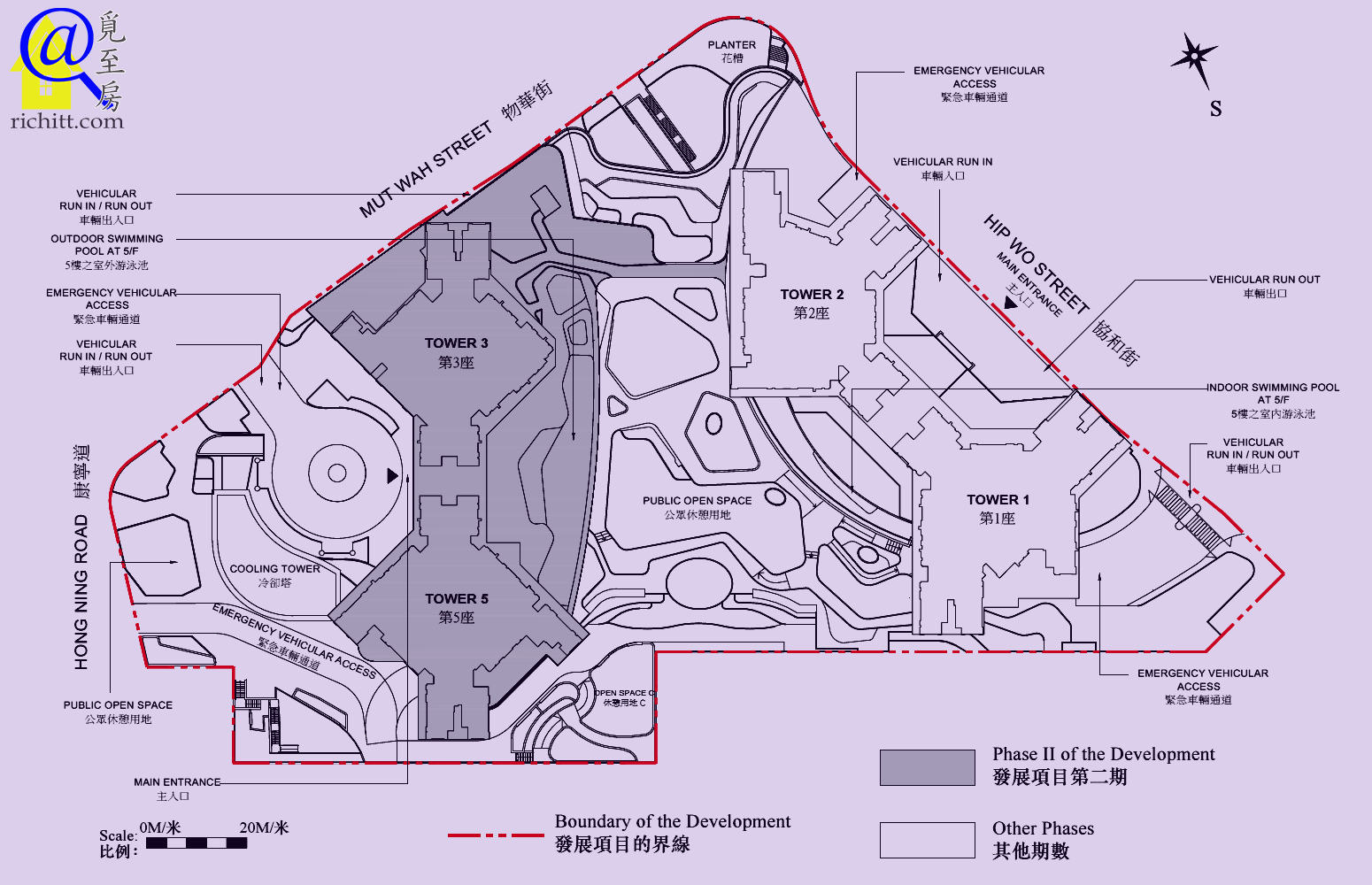 凱滙第二期佈局圖