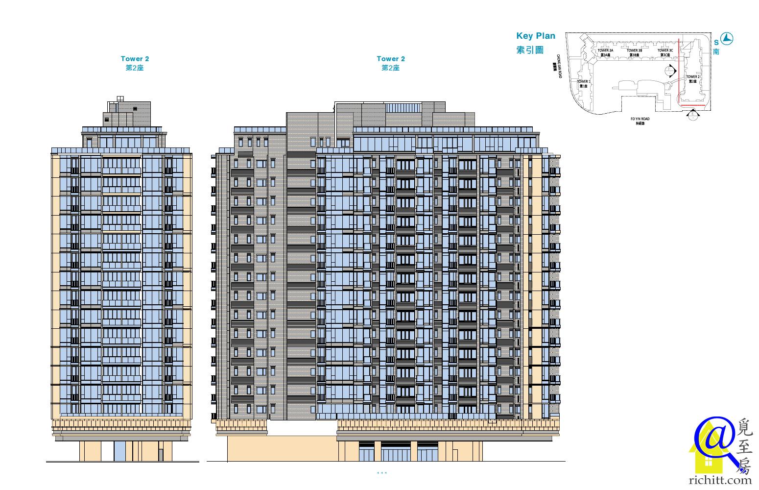 逸瓏灣8立面圖3