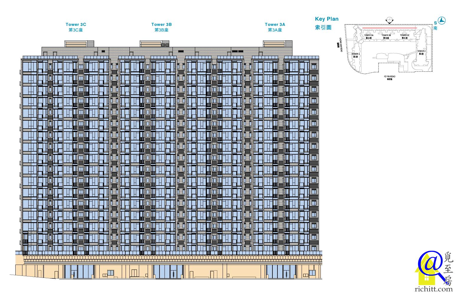 逸瓏灣8立面圖5