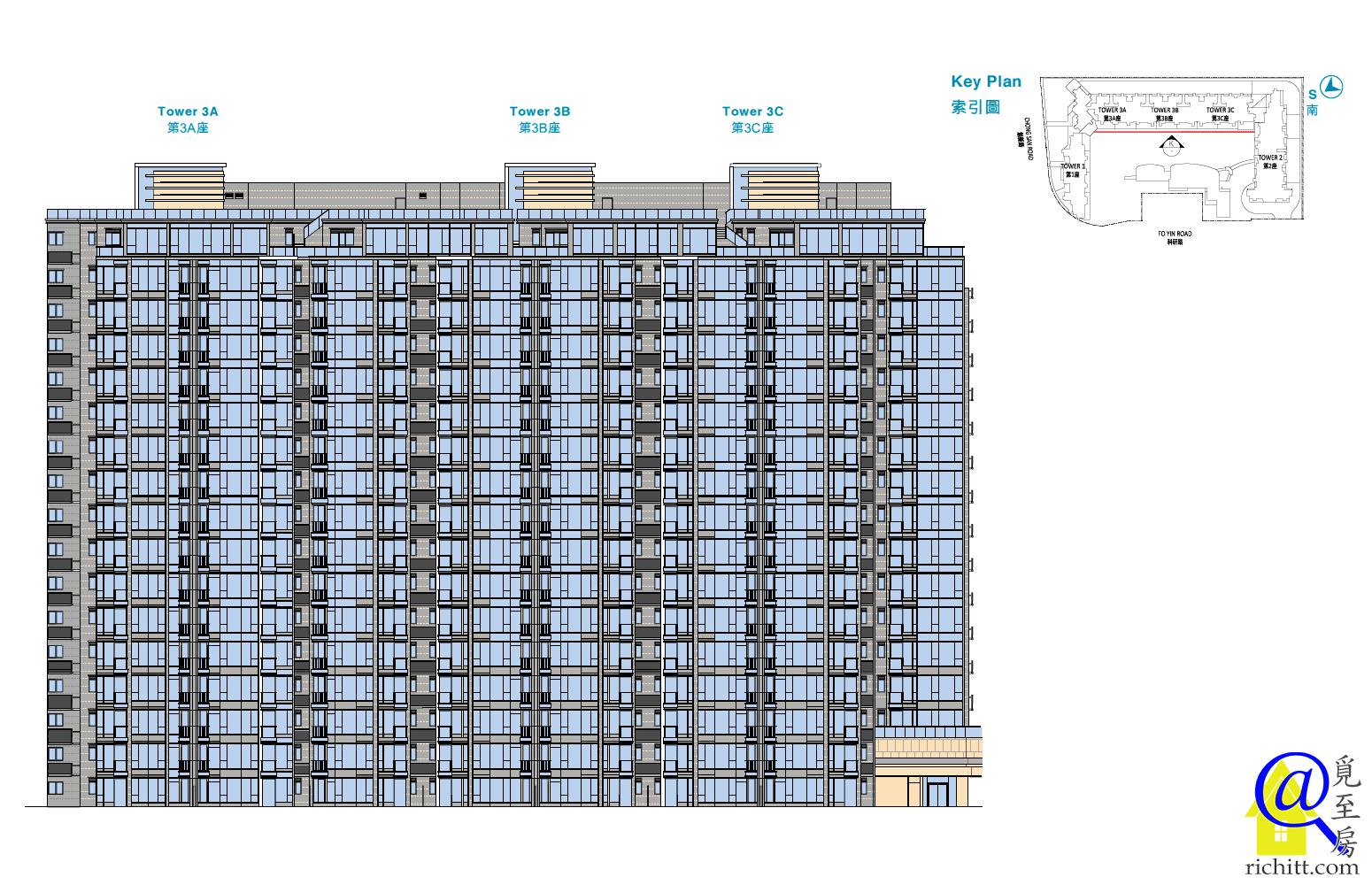 逸瓏灣8立面圖6