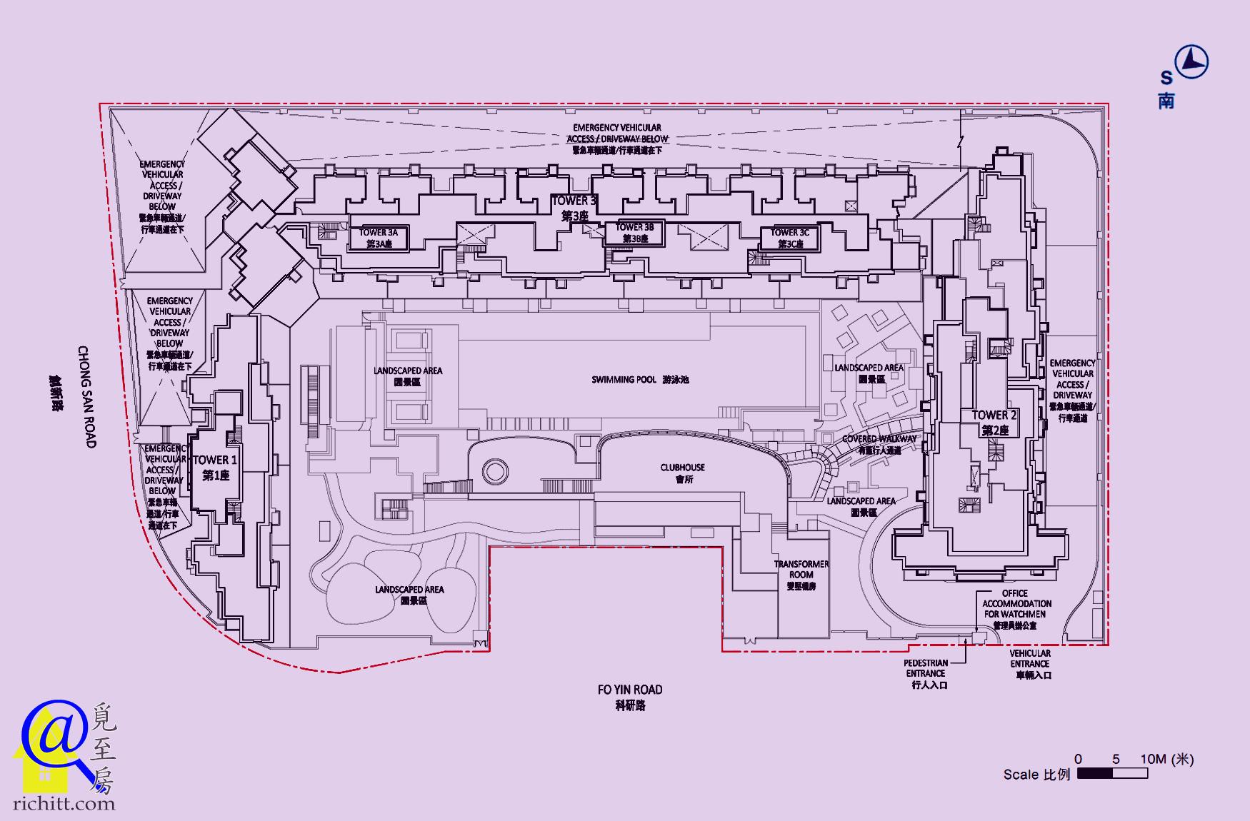 逸瓏灣8佈局圖