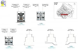 THE CARMEL 洋房立面圖3