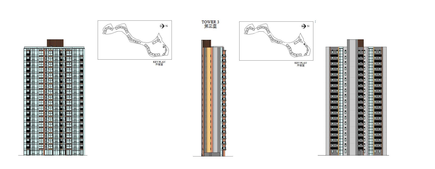 天鑽立面圖2